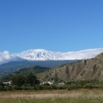 "L'Etna con la prima neve vista dalla pianura • <a style=""font-size:0.8em;"" href=""http://www.flickr.com/photos/43732391@N00/15456821129/"" target=""_blank"">View on Flickr</a>"