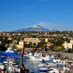 "L'Etna dal Porticciolo di Ognina / The Etna from Ognina Seaport / CT / Sicilia. • <a style=""font-size:0.8em;"" href=""http://www.flickr.com/photos/85344536@N05/15394757913/"" target=""_blank"">View on Flickr</a>"